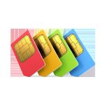Телефоны 4 сим-карты