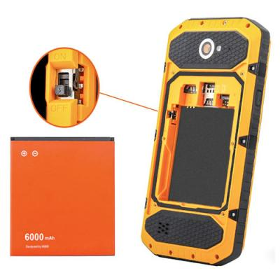 Батарея 6000mAh для телефона NO.1 X6800